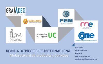 Ronda Intersectorial e Internacional de Negocios de FEM y CAME