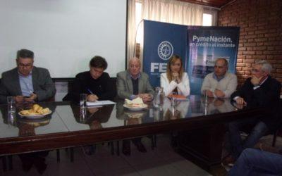 Ciclo de Charlas: empresarios se reunieron en la FEM con la precandidata a gobernadora Anabel Fernández Sagasti