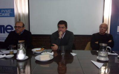 Ciclo de charlas con precandidatos: Omar De Marchi visitó la FEM