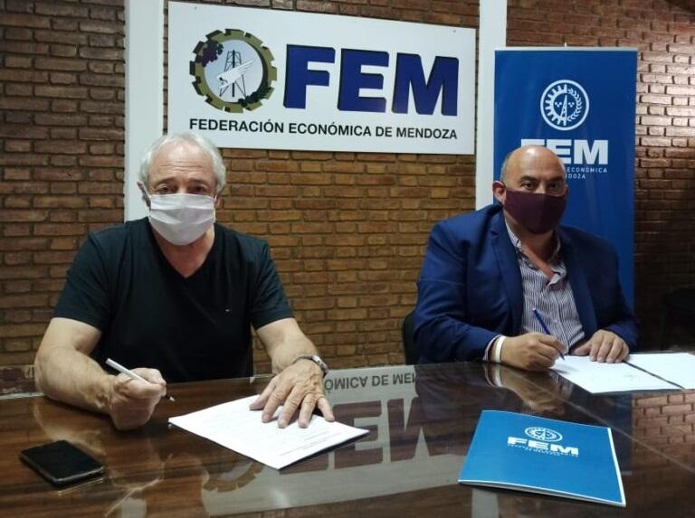 Acuerdo de colaboración entre la FEM y la Dirección Provincial de Cooperativas