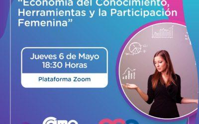 """Este jueves encuentro """"Economía del Conocimiento, Herramientas y la Participación Femenina"""""""